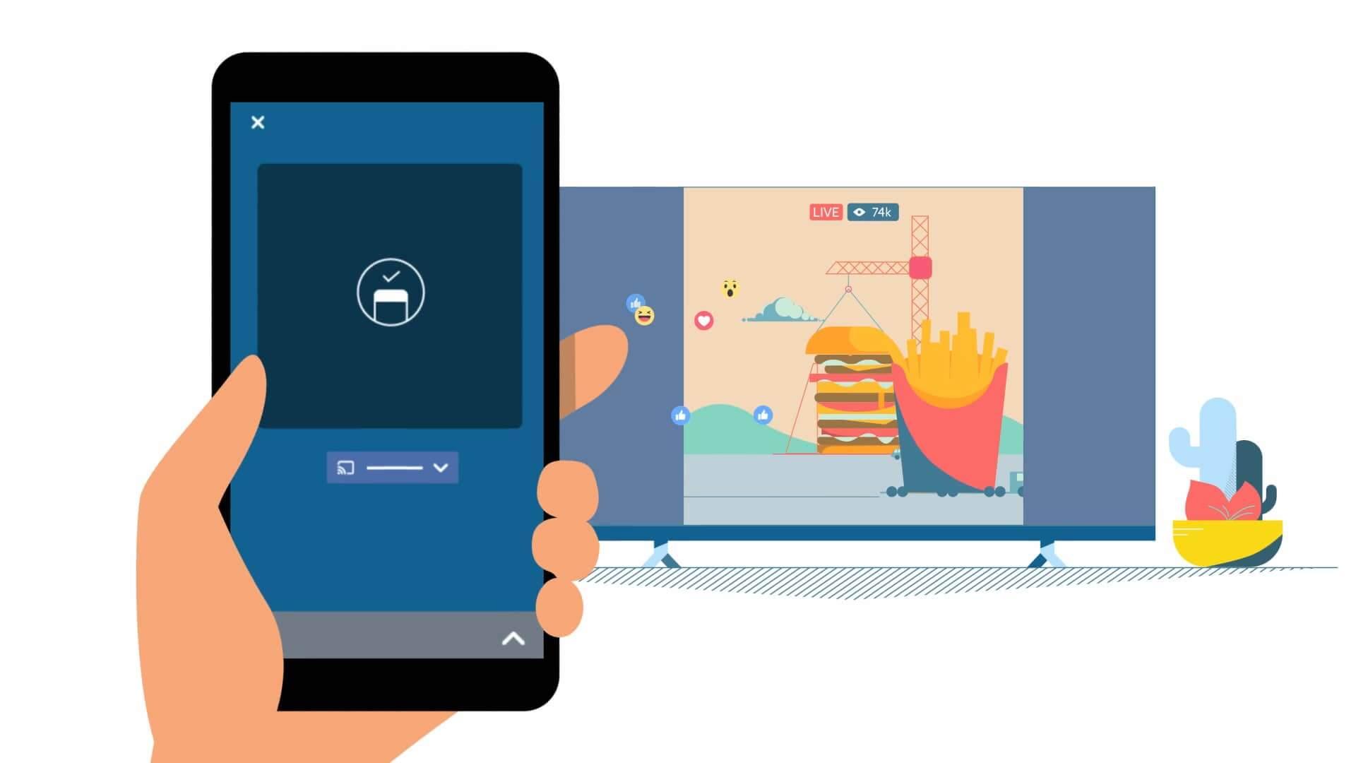 596729571 - Facebook está desenvolvendo app focado em vídeo