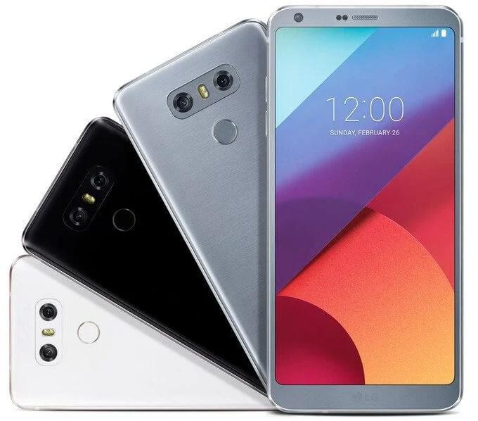 LG G6 three colors leak 01 - LG G6 deve chegar nas próximas semanas ao Brasil