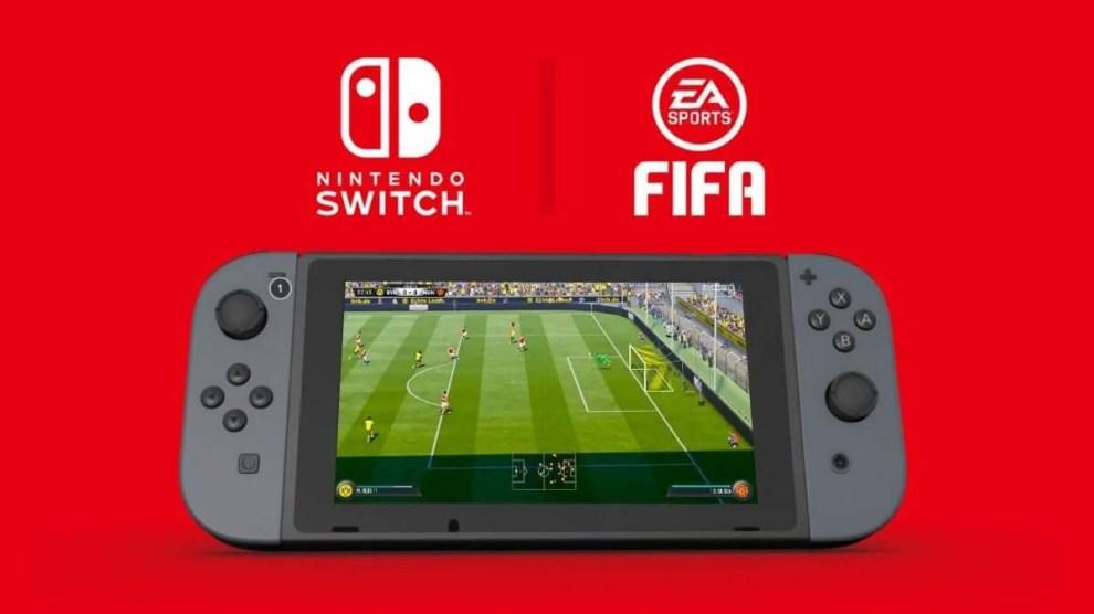Confirmado! Nintendo Switch receberá FIFA 18 este ano