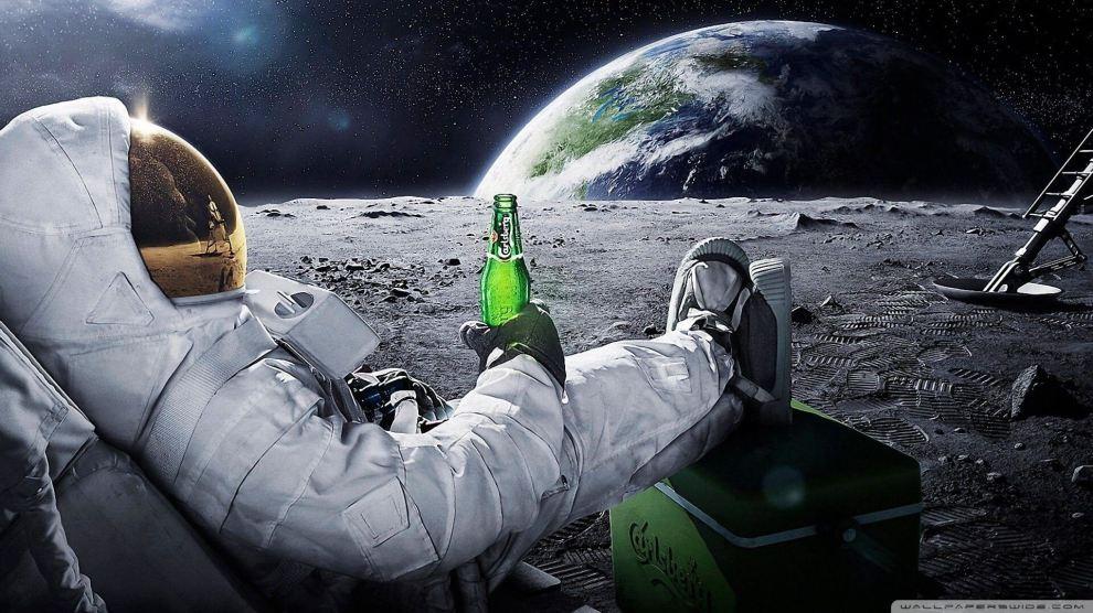 O futuro chegou! Pessoas comuns poderão visitar a Lua ainda em 2018