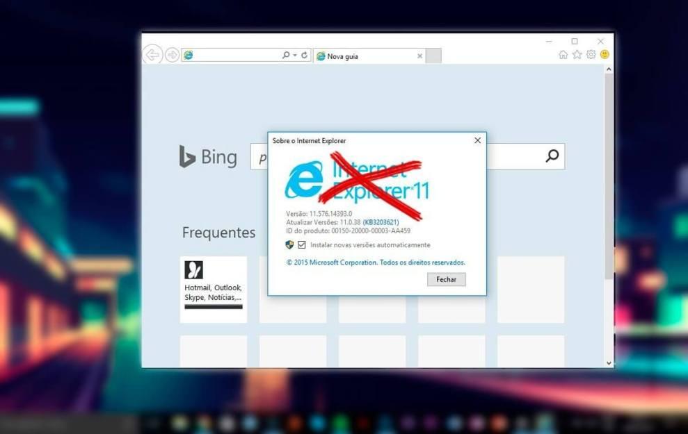 remover o internet explorer capa - Tutorial: Como remover o Internet Explorer do Windows 10