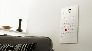 ?Magic Calendar? é um calendário feito de E-Paper