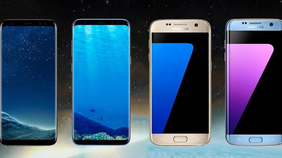 Comparativo: Galaxy S7 x Galaxy S8 e Galaxy S7 Edge x Galaxy S8+ 6