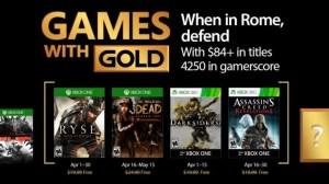 Games with Gold: jogos grátis na Live para abril de 2017 5