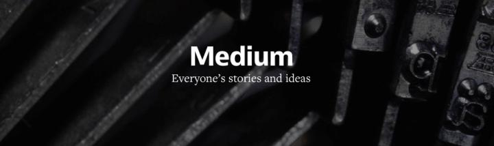 """medium logo jun 2014 720x214 - Medium segue Snapchat e cria """"Series"""", histórias que podem durar para sempre"""