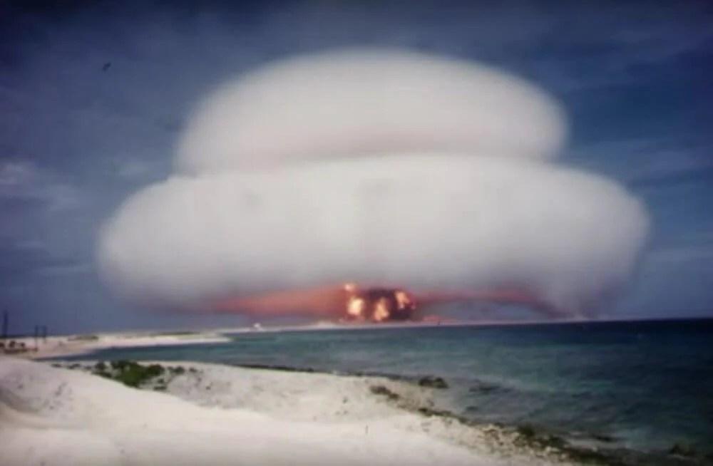 nuclear footage 1 - Vídeos de testes nucleares americanos se tornam públicos depois de mais de 50 anos