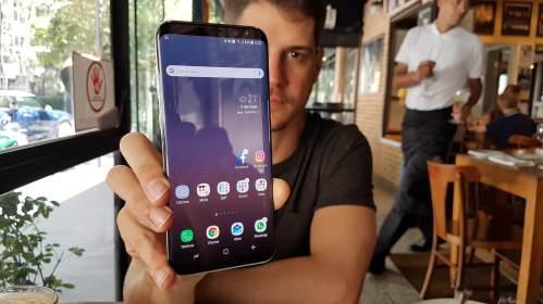 Galaxy S8 Samsung Showmetech - REVIEW: Galaxy S8 e S8+ representam elegância e sofisticação