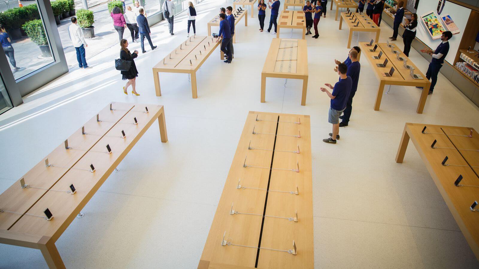 apple store union square sf 1878 001 - Apple está planejando mais duas lojas físicas no Brasil
