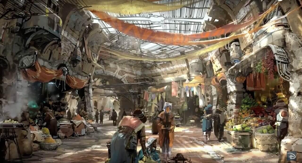 Disney mostra projeto do Star Wars Land e impressiona pela riqueza de detalhes
