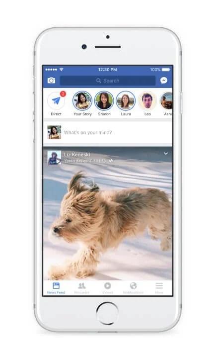 facebook stories direct 2 - 4 motivos para usar a nova câmera do Facebook no Android e iOS