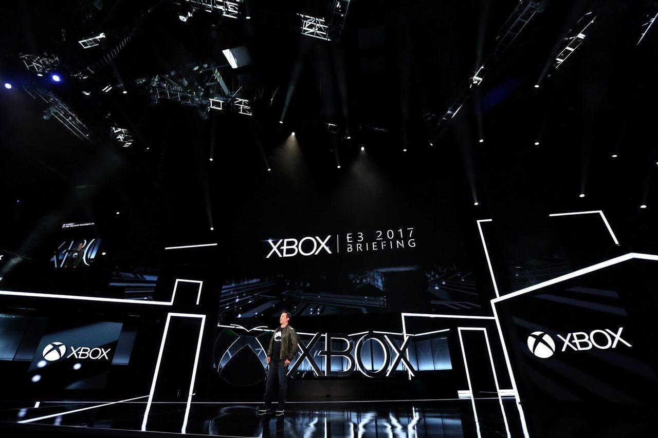 E3 2017 Phil Opens Xbox E3 2017 - Quem venceu a E3 2017? Decisão fica entre Microsoft, Nintendo e Sony