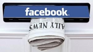 facebok jornais