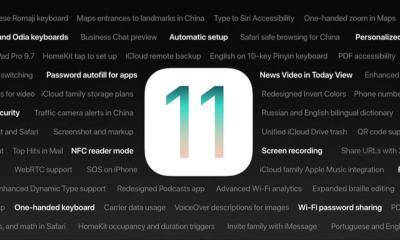5 novidades do iOS 11 que a Apple não mostrou no evento