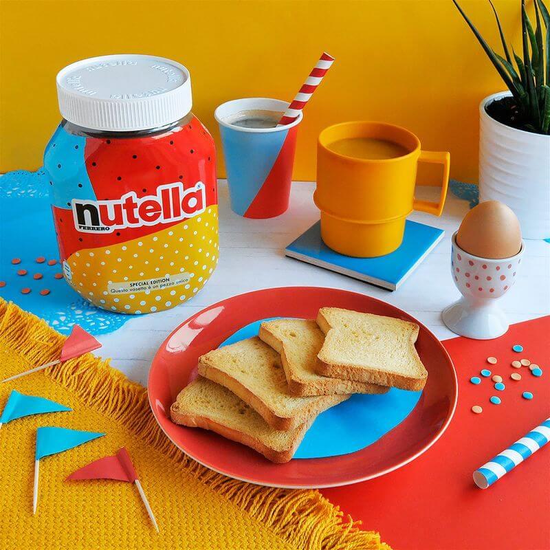 nutella unica packaging design products  dezeen 2364 col 0 - Você sabia? Nutella usou algoritmo para criar embalagem