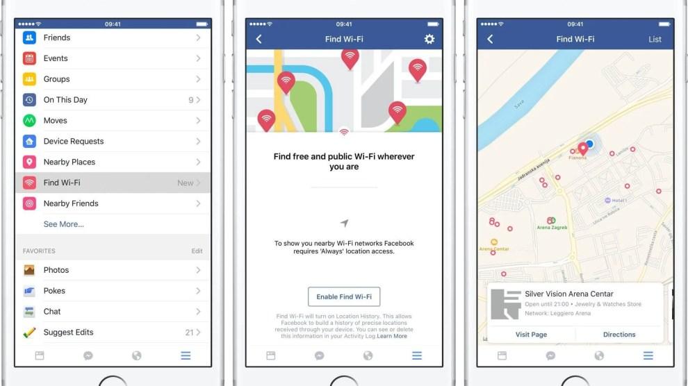 """Facebook lança """"Descobrir Redes Wi-Fi"""" em todo mundo"""