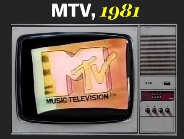 Inauguração da MTV