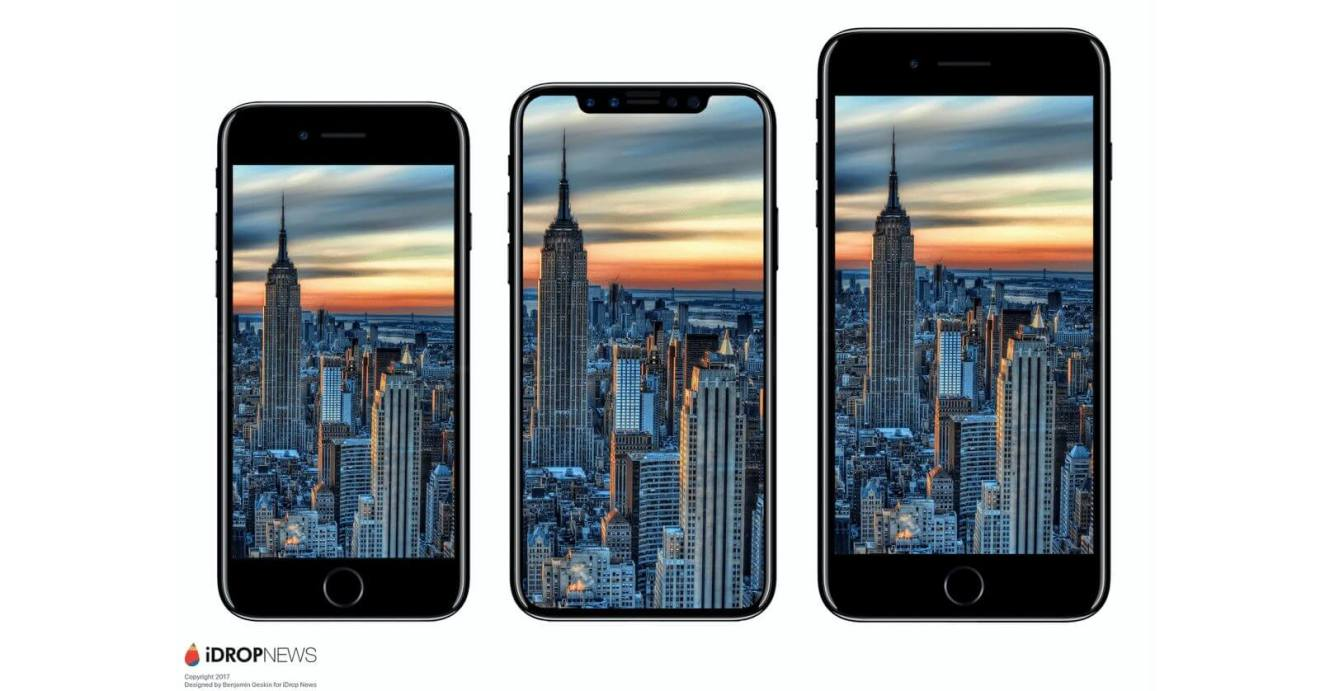 iphone 8 size comparison - Nada de iPhone 8? Analistas acreditam que situação está crítica na Apple