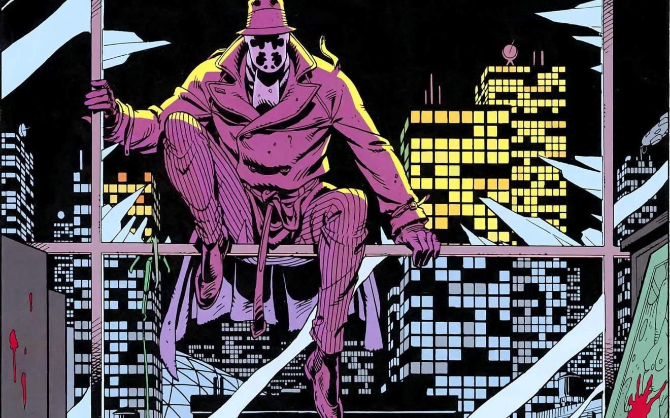 O personagem Rorschach em Watchmen