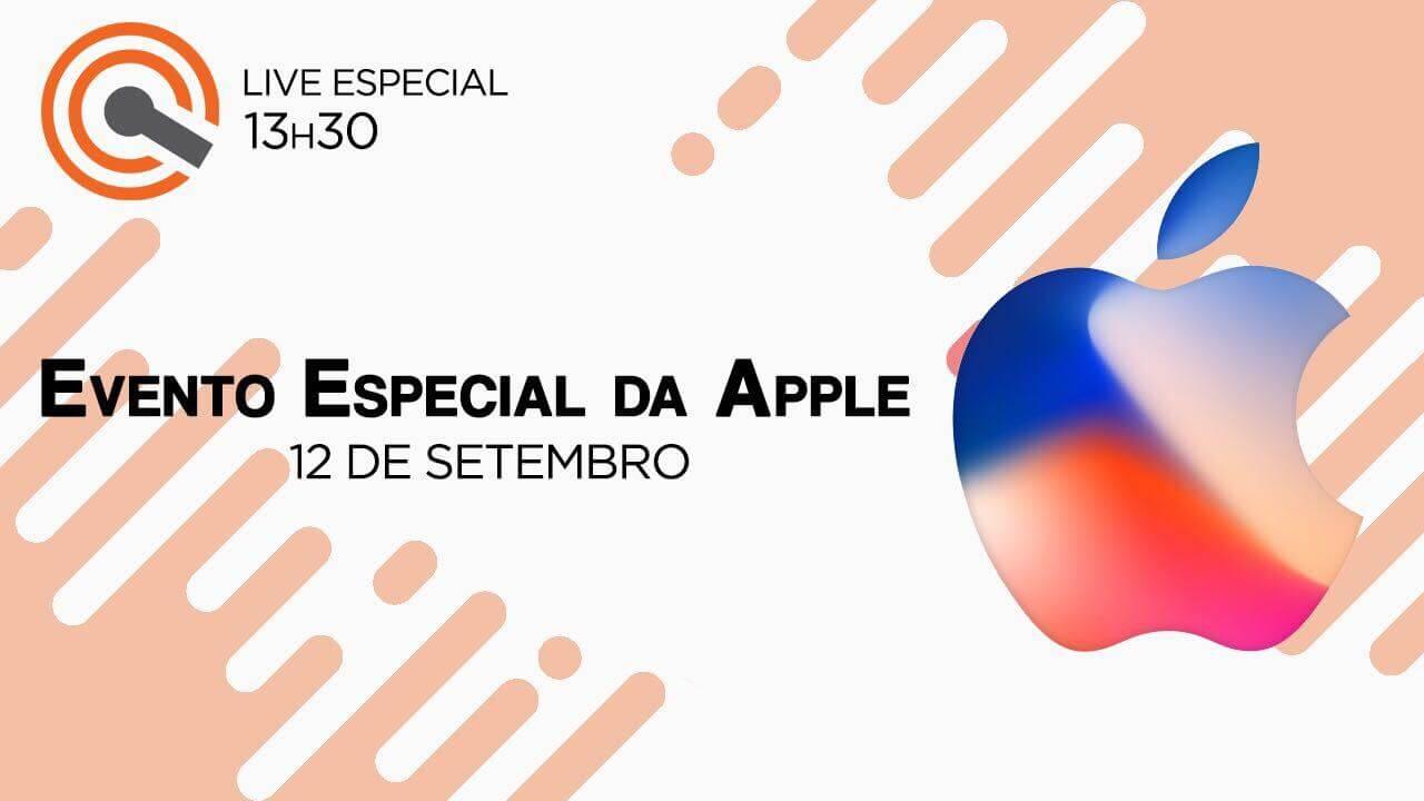 Como assistir o evento da Apple do iPhone 8/iPhone X