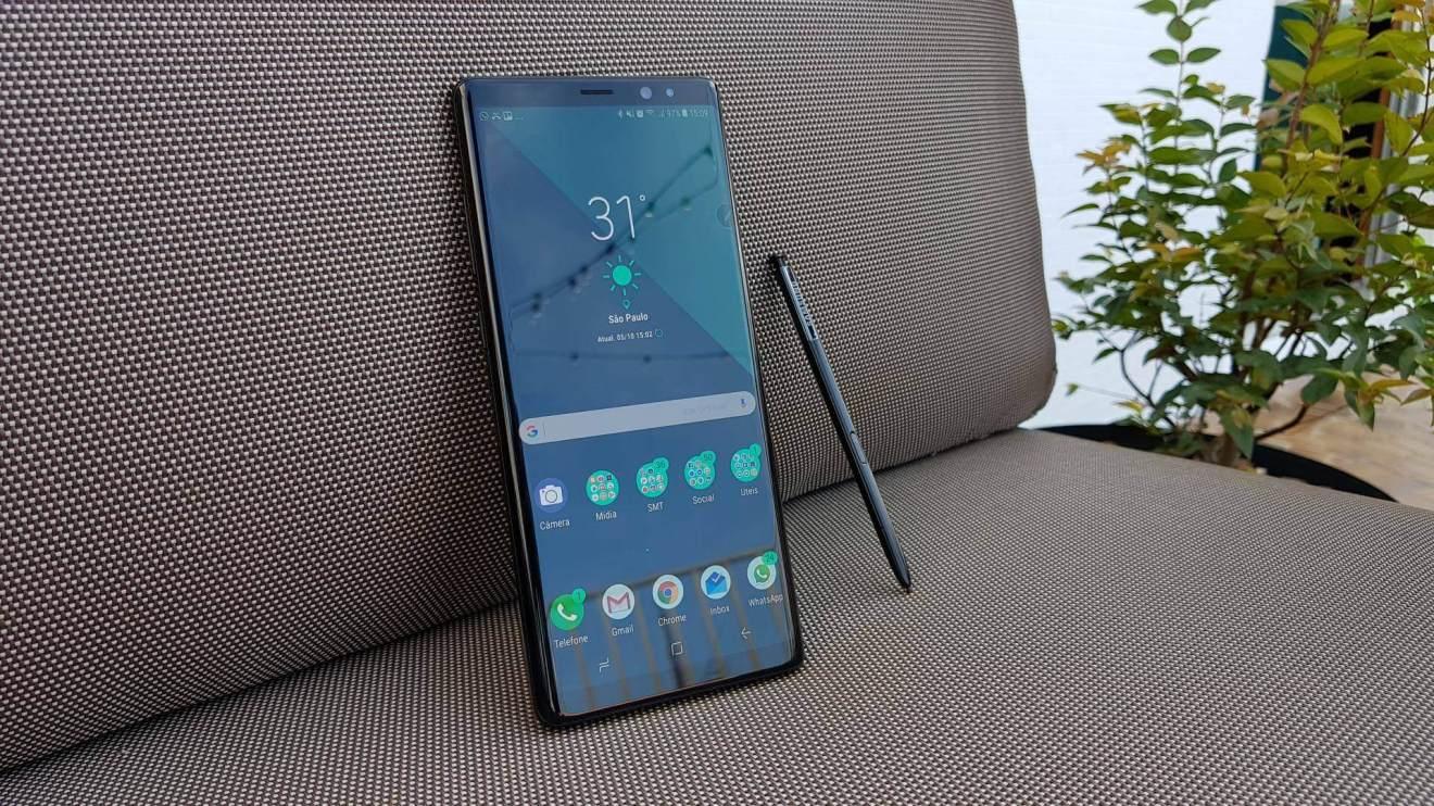 Galaxy Note 8 e S Pen 1 - Galaxy Note 8: O Review Completo