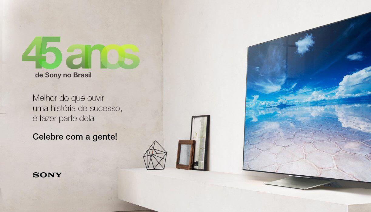 kv aniversario 37043020074 o - Sony comemora 45 anos no Brasil; relembre essa história marcante