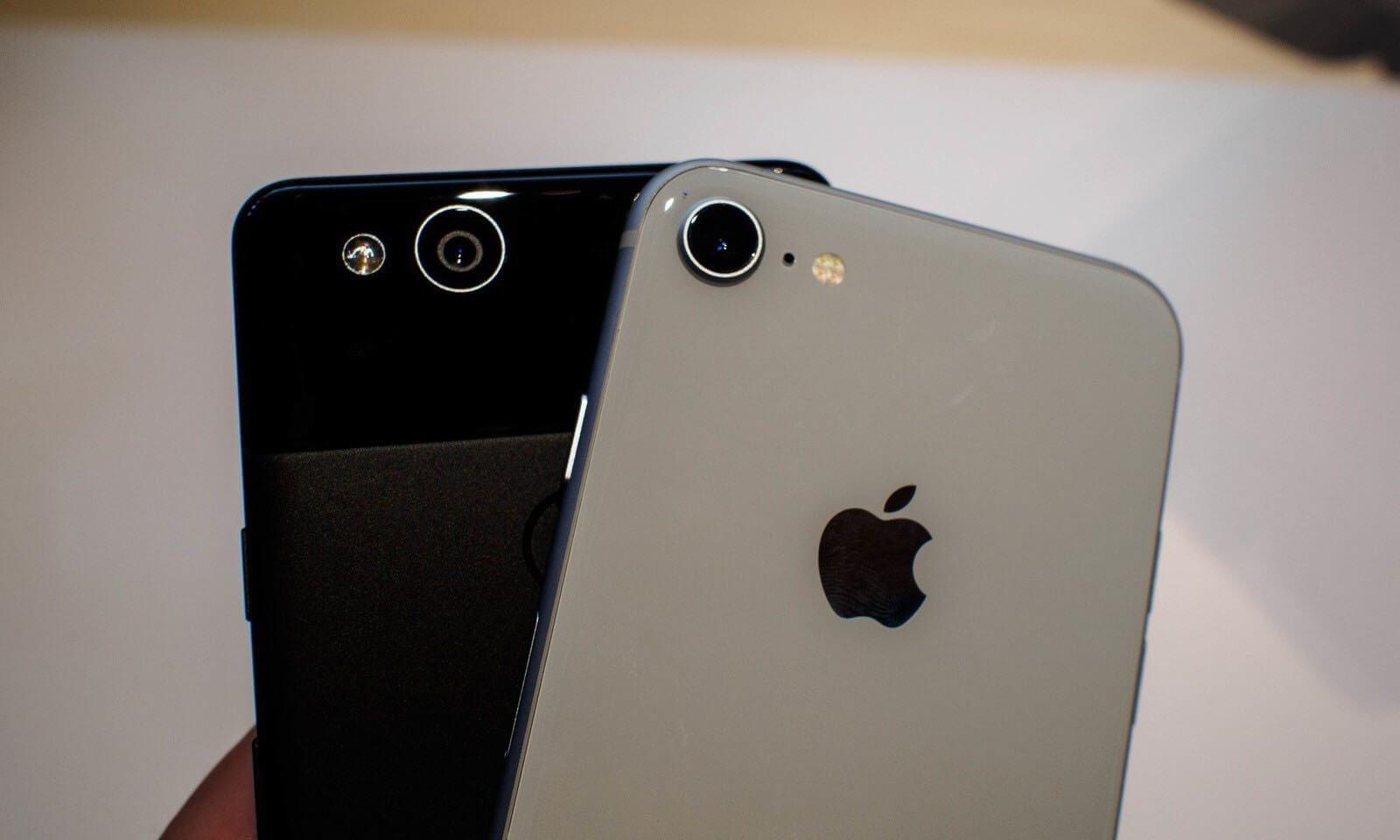 pixel 2 iphone camera - Comparativo: Google Pixel 2 e 2 XL x iPhone 8 e 8 Plus