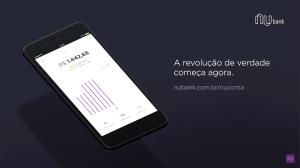 Nubank anuncia NuConta, serviço de conta-corrente. 4