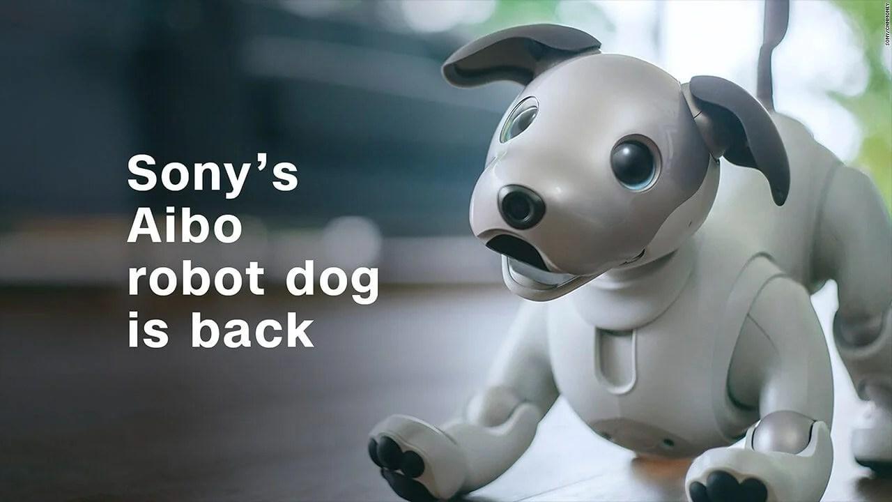 171101121233 sony robot dog thumbnail 1280x720 - Nova versão do cãozinho robô da Sony, o Aibo, é anunciada