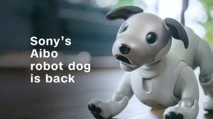 Nova versão do cãozinho robô da Sony, o Aibo, é anunciada 15