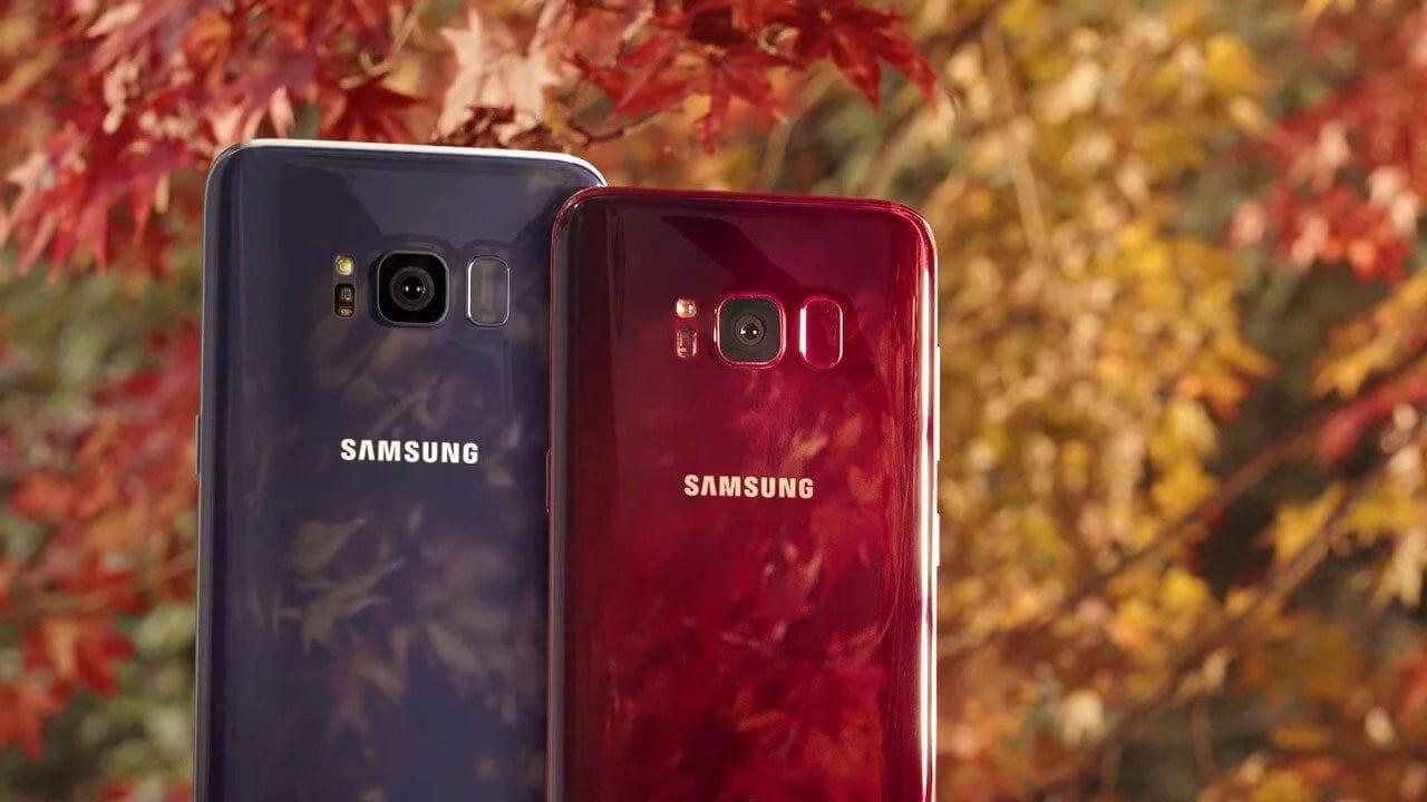 Samsung Galaxy S8 Burgundy Red - Samsung disponibiliza cor Vermelho Borgonha para o Galaxy S8