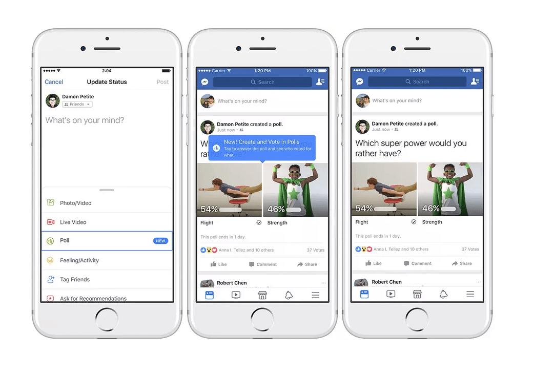 Sem título - Facebook: como adicionar GIFs nas suas enquetes