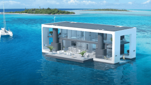 Arquiteto holandês desenvolve casa flutuante que suporta furacões 7