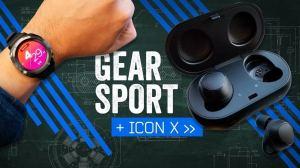Samsung lança a segunda geração do IconX e o novo Gear Sport 12