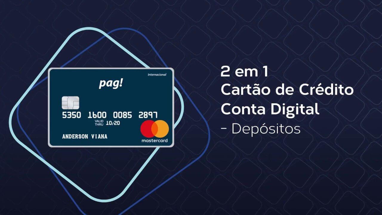 maxresdefault 4 - Rivalizando com Nubank, Pag! permite sacar dinheiro sem taxas