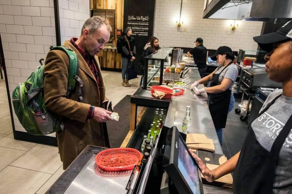 Estes restaurantes já não querem mais saber de dinheiro de papel