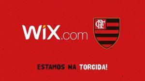 Wix foca no Brasil de forma divertida em parceria com o Flamengo 5