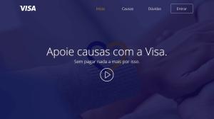 Visa encontra novo meio de ajudar causas através de suas compras