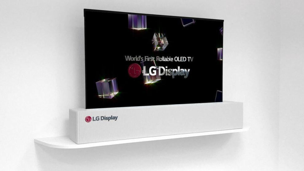 CES 2018: LG exibe TV OLED enrolável de 65 polegadas 7