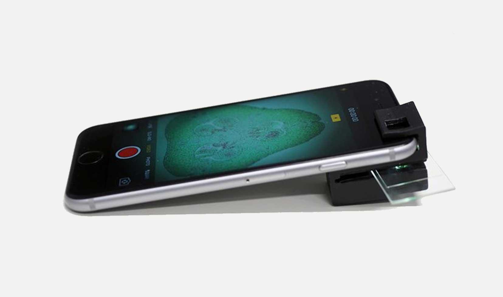 06 1 - Esse acessório transforma seu smartphone num microscópio completo