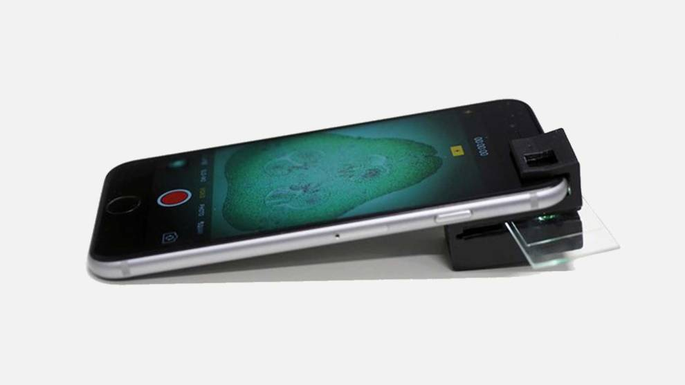 Esse acessório transforma seu smartphone num microscópio completo 6