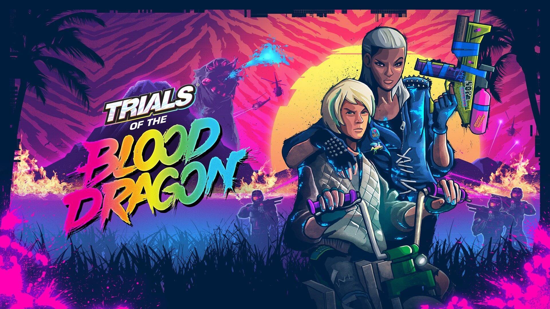 1465959836 trials of the blood dragon - Games with Gold: jogos grátis na Live para março de 2018