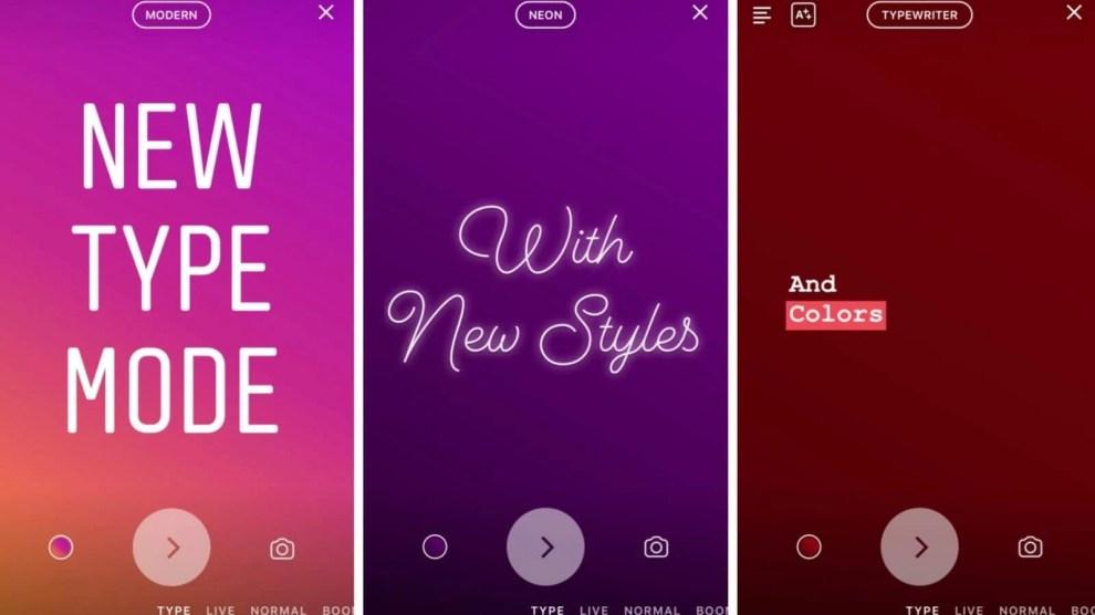 Novo modo do Instagram Stories vai deixar seus textos mais estilosos 4