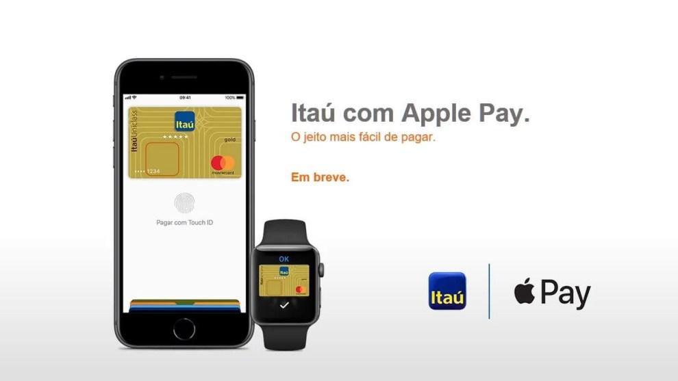 Itaú será o primeiro banco do brasil com Apple Pay