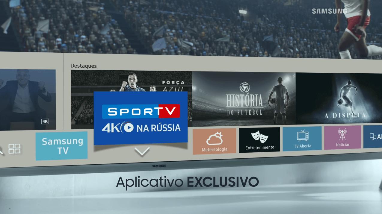 Samsung SporTV 4K - Como assistir à Copa do Mundo em 4K