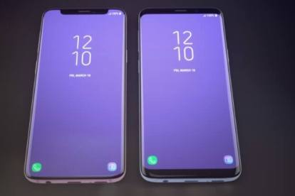 Assim seria o Galaxy S9 se ele tivesse o notch do iPhone X 9