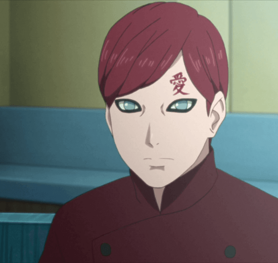 Boruto: Naruto Next Generations apresenta o filho de Gaara, o Kazekage