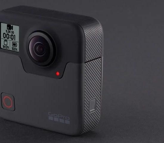 Imagem de divulgação. GoPro Fusion 360°.