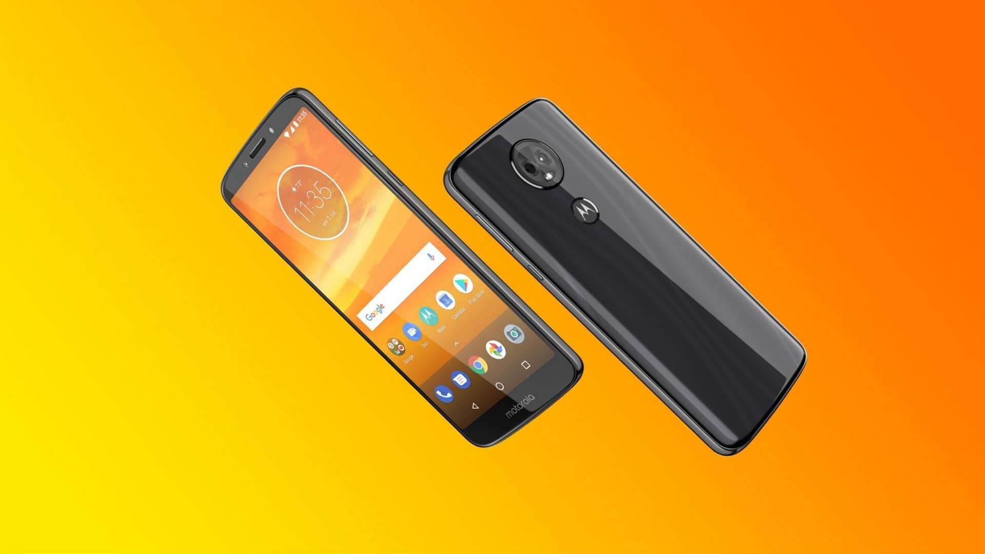 motorola 4 - Motorola anuncia novos aparelhos de entrada: Moto E5 e Moto E5 Plus