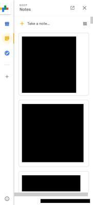 novo gmail - notas