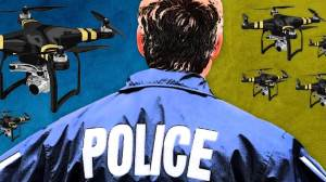 27 - Criminosos utilizam drones para atrapalhar operação de resgate do FBI